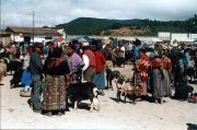 Friday market in San Francisco el Alto - 40 minutes from Xela.