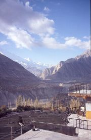 Karimabad, view from my hotel