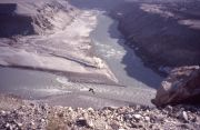 Confluence of the Gilgit and the Indus Rivers
