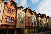 Old part of Troyes