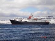 Our scientific ship MARION DUFRESNE in Kerguelen Island