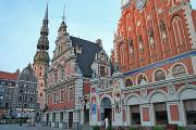 St Peter's Church, Riga's best known landmark