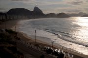 The view of Copacabana.
