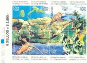 stamps I bought featuring the picaflor local bird