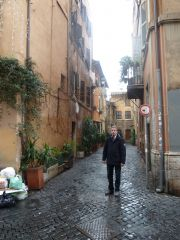 Trastevere, the place to be for Bougondic feelings