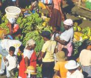 Fruit market in St. Georges