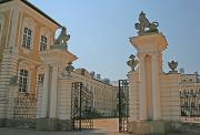 Entrance to Rundāle Palace