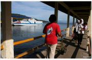 High speed vessel on Sabang port