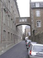 The narrow streets of  La Ville Intra-Muros