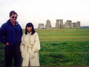 Stonehenge, Koreans get around too