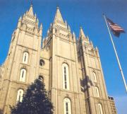 Mormon temple where I ate free peanuts buttered sandwiches