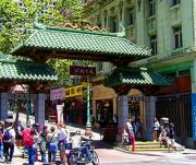 Chinatown Gate on Bush street