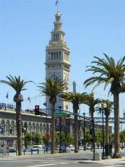 The Ferry Bulding on Embarcadero-waterfront