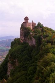 The other of San Marino's castles.