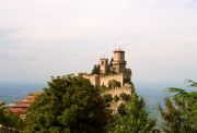 One of San Marino's castles