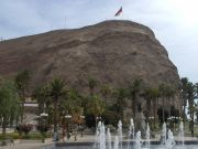 El Morro rock in Arica
