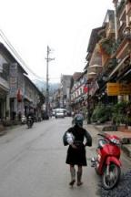 P Cau May, Sapa's Main Drag