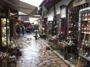 Souvenir shops at the old town.