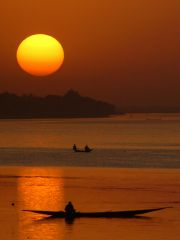Niger River Sunset