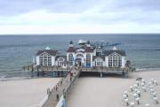 Pier at Sellin and Cliff Hotel