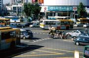 A very busy intersection in Seoul