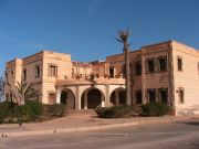 The derelict Spanish consulate at Sidi Ifni.