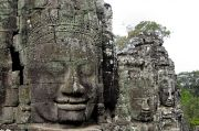 The Heads of Bayon Temple