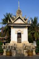 The Siem Reap Killing Fields Memorial at Wat Thmei