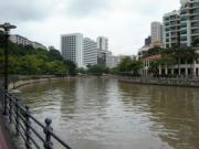 Many up-market hotels along the Singapore River
