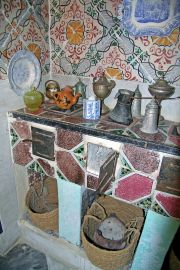 Fully equipped kitchen in Dar essid Museum