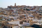 Sousse's medina and Kasbah seen from the Ribat tower