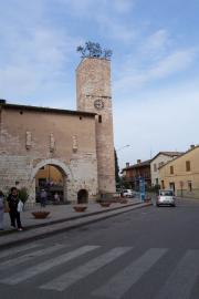 Spello's most distinctive tower.