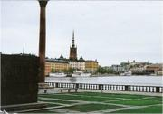 Old town from City Hall, Stockholm