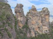 The Three Sisters and Blue Mountains