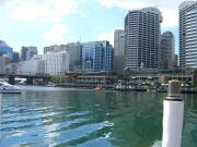 One side of Darling Harbour