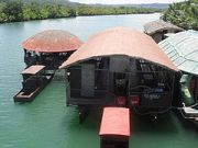 The Rio Verde Floating Restaurant in Loay, Bohol
