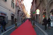 Red carpet at Tarquinia - just for me?