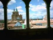 The Cathedral from high in the museum.
