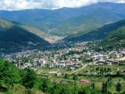View of Thimphu