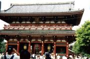 Asakusa temple is one of Tokyo's most popular sights