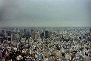 A view of Tokyo from Tokyo Tower.