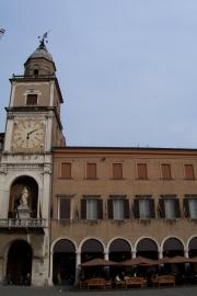 The 'buses' side of the cathedral, Modena
