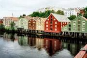 Warehouse from Old Bridge, Trondheim