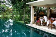 High Tea by the Pool - Komaneka Resort
