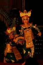 Lovely Legong Dancers - Ubud Palace