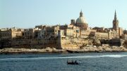 Valletta from the sea