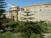 Mdina city walls