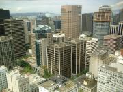 view from Harbour Centre Tower