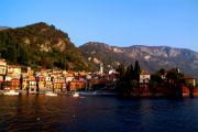 Varenna's old harbour