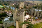 Warwick Castle - seen from the Guy's Tower